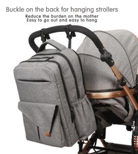 Diaper bag hang on the stroller