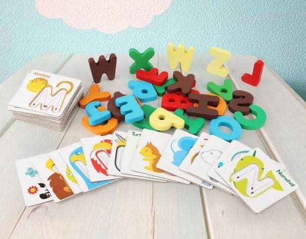 Educational Toys Wood Letter